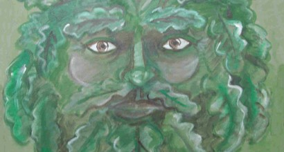 Greenman Painting