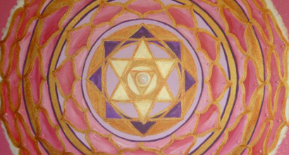 Mandala of the Divine Feminie and Higher Heart