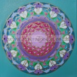 Angels and Dolphins Mandala